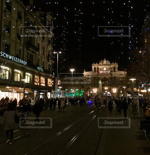 夜の街の景色 - No.906455