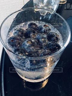 ブルーベリーソーダの写真・画像素材[908498]