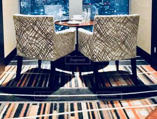 ダイニング ルームのテーブルの写真・画像素材[919163]