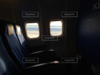 飛行機の座席の写真・画像素材[924344]