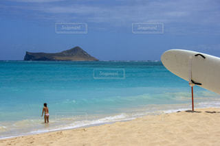 ハワイのビーチの写真・画像素材[1029919]