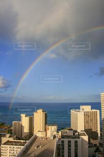 ハワイの虹の写真・画像素材[1030014]