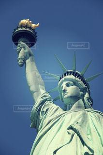 自由の女神の写真・画像素材[1057674]