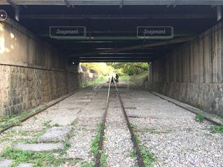 線路の上の写真・画像素材[906154]