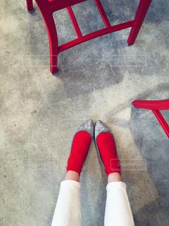 赤い靴下の写真・画像素材[906805]