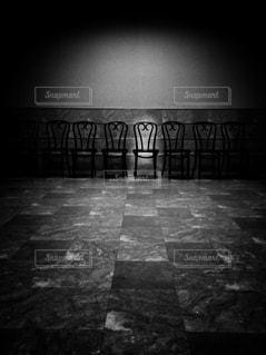 ハートな椅子の写真・画像素材[909001]