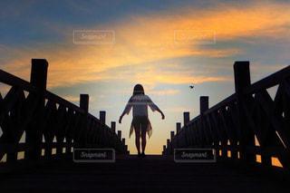 日の出とともにの写真・画像素材[911222]