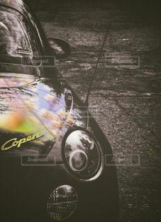車のバックにの写真・画像素材[911972]