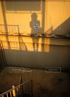 わたしの影の写真・画像素材[911982]