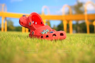 赤い靴の写真・画像素材[908298]