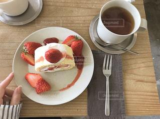 cake..🍓の写真・画像素材[907715]