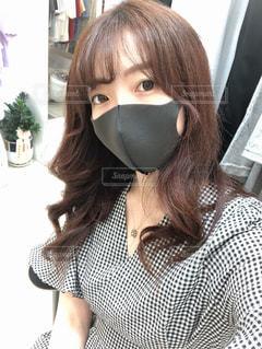 マスクをしている女性の写真・画像素材[3235011]