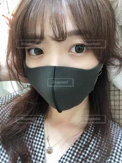 マスクをつけている女性の写真・画像素材[3260447]