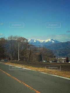 冬の山の写真・画像素材[911816]