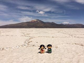 塩の平原の写真・画像素材[909533]