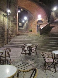 古都のカフェの写真・画像素材[910621]