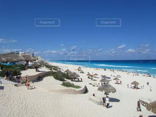 カンクンから見る カリブ海の写真・画像素材[910846]