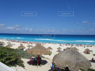 カンクンから見る カリブ海の写真・画像素材[910848]
