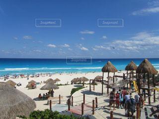 カンクンから見る カリブ海の写真・画像素材[910849]