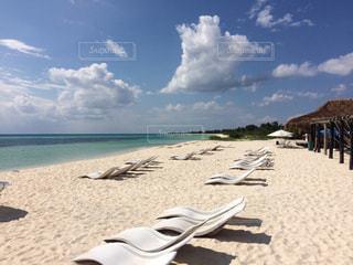 コスメル島の砂浜の写真・画像素材[912310]