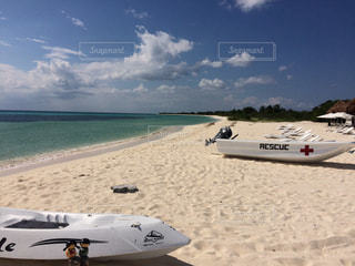 コスメル島の砂浜の写真・画像素材[912311]