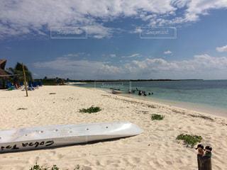 コスメル島の砂浜の写真・画像素材[912312]