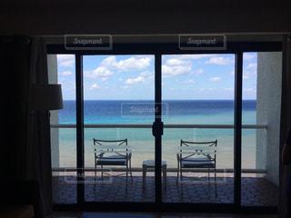 ホテルからのカリブ海の写真・画像素材[912323]