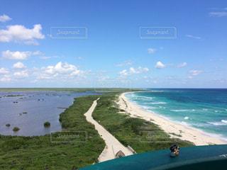 コスメル島 南端にある灯台からの眺め。の写真・画像素材[916416]
