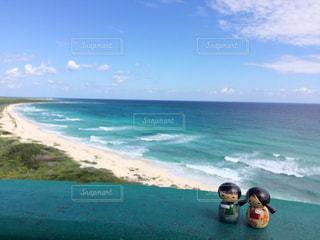 コスメル島 灯台からのカリブ海の写真・画像素材[916417]