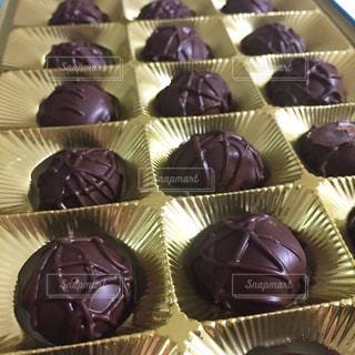 チョコレートの宝箱の写真・画像素材[908461]