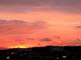 夕日の写真・画像素材[1350377]