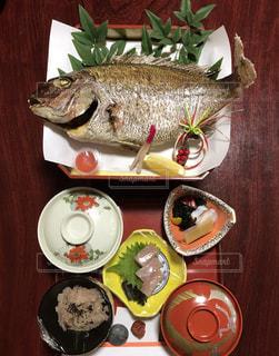 お食い初めの料理の写真・画像素材[924558]