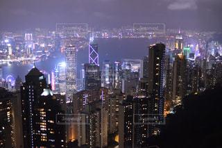 香港・夜景の写真・画像素材[911969]