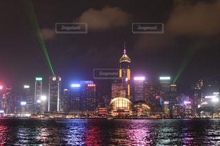 夜景・香港 2の写真・画像素材[912405]