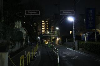 夜の街の写真・画像素材[1053985]