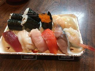 お得意 握り寿司ランチの写真・画像素材[1588101]