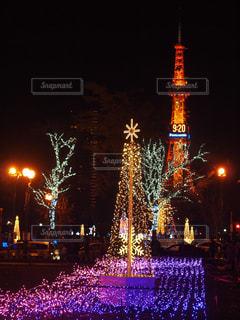 クリスマスイルミネーションの写真・画像素材[914909]