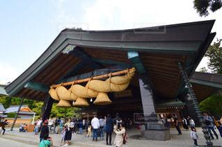 出雲大社 神楽殿の写真・画像素材[2142996]