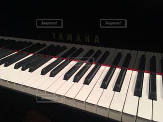 ピアノと向き合っての写真・画像素材[913440]