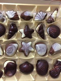 チョコレートの種類の束の写真・画像素材[926405]