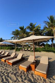 ベトナム ダナン リゾートホテルのプライベートビーチの写真・画像素材[915470]