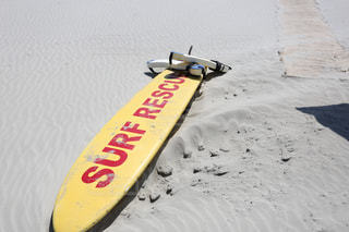 ビーチとサーフボード(レスキュー) - No.915589