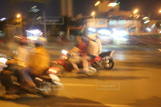 ベトナムの夜の街-0002の写真・画像素材[917270]