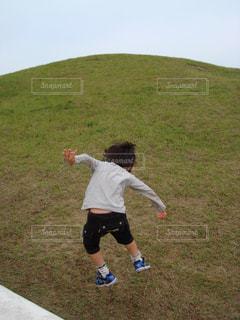 ジャンプ!の写真・画像素材[924627]