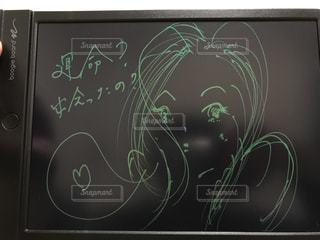 電子黒板のイラスト-0002の写真・画像素材[928518]