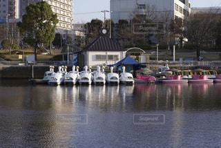 ペダルボートの写真・画像素材[929297]