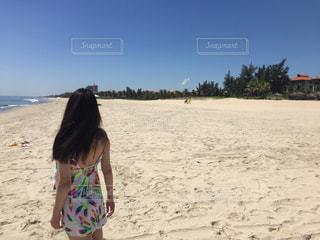 プライベートビーチ-001の写真・画像素材[958242]