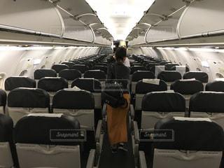 飛行機に搭乗の写真・画像素材[1568029]