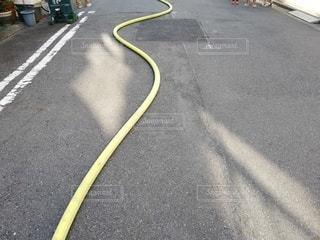 消防ホースの写真・画像素材[2704266]