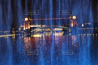 水のライトアップの写真・画像素材[917854]